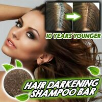 Soap Hair Darkening Shampoo Bar 100% Natural Organic Conditioner and Repair A+