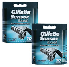 20x Gillette Sensor Excel Gilette Gillete Gilete Ecxel 20er / 2x 10 razor blades