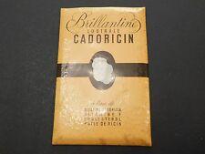 BRILLIANTINE LUSTRALE CADORICIN FRENCH ADVERTISING SIGN HAIR SALON BARBER PROP