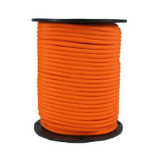 5/16″ 500 ft Bungee Shock Cord Neon Orange Marine Grade Heavy Duty