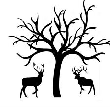STAGS RUBBER STAMP CHRISTMAS, GIFT WRAPPING, CARDS