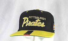 Pittsburgh Pirates Black/Yellow Baseball Cap Snapback
