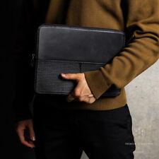 "Leatner Laptop Sleeve Case For New 16"" Macbook Pro 13"" MacBook Air 12.9"" iPad"