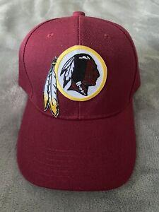 Vintage Throwback Washington Redskins Embroidered Logo Adjustable Cap / Hat NEW