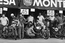 Ducati 250cc motorcycle 24 Horas de Montjuïc 24 Hours of Montjuich 1970 photo