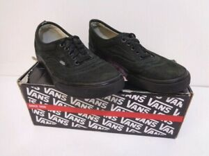 GIRLS VANS TRAINERS SIZE 5.5 OLD SKOOL AUTHENTIC PUMPS BLACK WOMENS SHOES