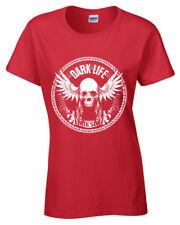 Oscuro Life Camiseta S-2XL Motero Camiseta Mujer Moto Rider Mujer Ropa