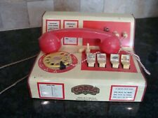 Old Tinplate Toy Telephone Switchboard.