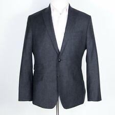 Banana Republic Gray Modern Slim Fit Peak Lapel Sportcoat w/ Ticket Pocket 40 S