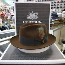 STETSON TEMPLE MINK  FUR FELT FEDORA DRESS HAT