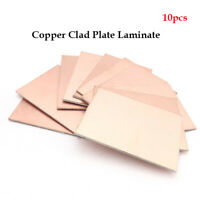 Double Sided Copper Clad Plate Laminate PCB Circuit Board - 10cmx15cm 10 Pcs new