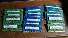 total 18G, 11x1GB PC3-8500S, 7x1GB pc3-10600s DDR3 Laptop SODIMM RAM