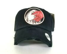 91a5b9296494f BLACK DISTRESSED LUST DAD Hat Snapback Strapback CAP