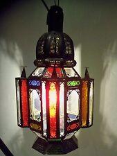 lanterne Lustre plafonnier marocain fer forgé lampe applique suspension ab