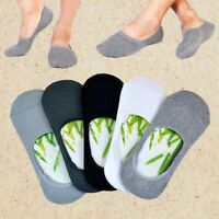 1 pairs man Thin Shallow mouth invisible boat sports cotton Slip socks Salable