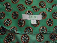 Women's Jade Melody Tam Blouse Sz XS (100% Polyester)