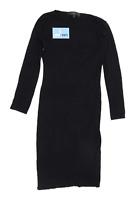 Topshop Womens Size 8 Black Bodycon Dress (Petite)