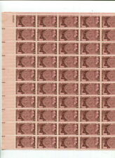 MNH US 3 Cent / 15 Cent Sheets $31.00 Face