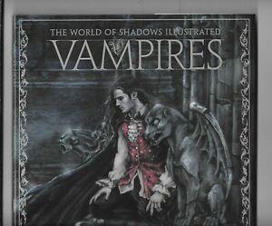 Vampires World of Shadows Illustrated 2011 Heavy Metal HC VF+ ISBN 9781935351399