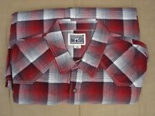 Converse One Star Shirt Mens Size L New Long Sleeve Plaid