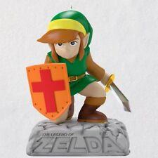 2018 Hallmark The Legend of Zelda Link Magic Sound Ornament Vintage Video Game