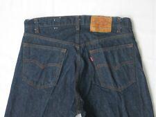 Vtg USA Levi's 505 0217 Rigid Denim Small E Non Selvedge Men's Jeans Red Tab