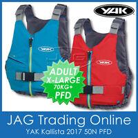 YAK KALLISTA 50N Buoyancy Aid PFD - Kayak/Canoe/Touring/Sailing Boat Life Jacket