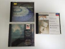 3 X Benjamin Britten discs, Steuart Bedford, Dennis Brain