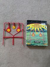 Do All Outdoors 22 Resetting Spinner Target Heavy Metal Spinning Disks Shooting