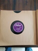 Red Ingle  -  78rpm single 10-inch -  Capitol #57-713 Yore A Dopey Gal / Pistol