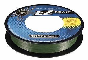 Spiderwire EZ Braid 15lb 110yd Moss Green