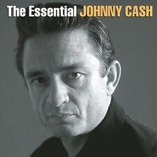 JOHNNY CASH - THE ESSENTIAL 2CD ALBUM SET (2000)