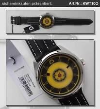 Uhr mit Leuchtzifferblatt und ungewöhnlicher Anzeige der Zeit: UNISEX; #KWT10O