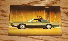 Original 1971 Ford Thunderbird Post Card Brochure 71