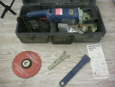 Crain No. 820 Heavy Duty Undercut Saw w/ Hard Carrying Case 2 Blades
