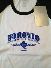 Toronto Maple Leafs NEW Womens Large T-shirt . NWT Blue Jays Hat L Hot Jersey