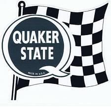 Quaker State 'Retro' Sticker
