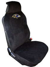 Baltimore Ravens Embroidered Seat Cover (New) Car Auto NFL Black Truck SUV CDG