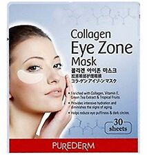 Korea Purederm Collagen Eye Zone Care Mask 1pack (30sheets) Anti aging, wrinkle