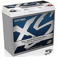 XS POWER XP750 AGM CAR AUDIO 750 AMPS Power Cell Battery With Terminals XP 750