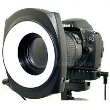 JJC LED-48IO Flash Anular Luz Continua Fotografía Macro Fuji Samsung