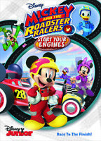 Mickey and The Roadster Racers: Start Your Engines [New DVD] Dolby, Dubbed, Su