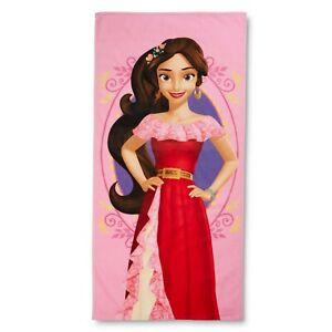 "Disney Elena of Avalor Sky's the Limit Pink Kids Beach Towel, 28""x58"""