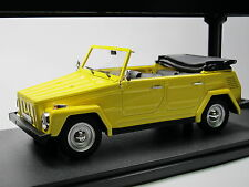 CULT scale models cml026-1, 1969 VOLKSWAGEN VW tipo 181 carrello Corriere giallo, 1/18