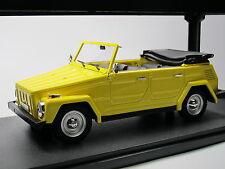 Cult Scale Models cml026-1, 1969 VOLKSWAGEN VW TYPE 181 Coursier Voiture Jaune, 1/18