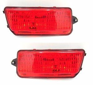 Pair Left Right Rear Bumper Fog Lamp Light for JEEP GRAND CHEROKEE 06-10 SRT