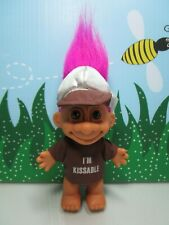 """Hershey I'M Kissable Boy - 5"""" Russ Troll Doll - Extremely Rare"""