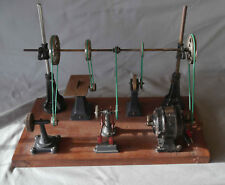 Très rare jouet ancien petit atelier de machines-outils Péricaud