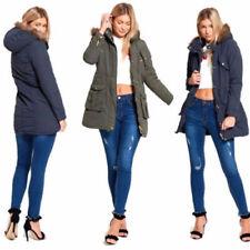 Brave Soul Polyester Regular Size Coats & Jackets for Women