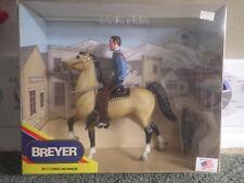 Breyer #717 Cowboy and Prancer Set  NIB